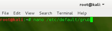 Easily Change GRUB Boot Order in Kali Linux - Edit GRUB